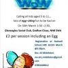 Calling All Kids Aged 5 - 11. Good Friday WOW!