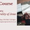 Lent Course 2021