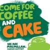 Sunday 1 October Macmillan Coffee Morning...